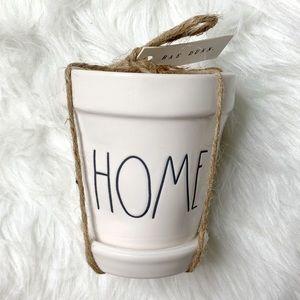 Rae Dunn HOME mini plant pot